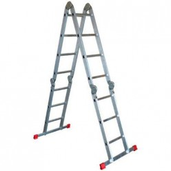 604405 Лестница четырехсекционная Новая высота 4 х 5