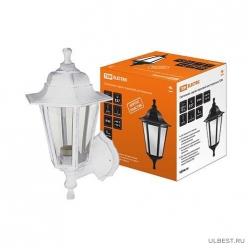 Светильник садово-парковый НБУ 06-60-001 шестигранник, настенный, пластик, белый TDM (SQ0330-0731)