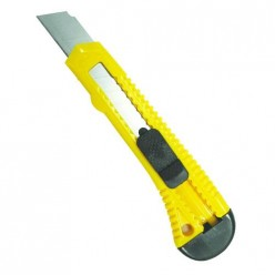 БИБЕР 50121 Нож технический усиленный 25мм (24/96)