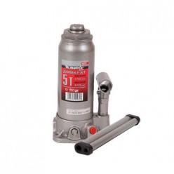 Домкрат гидравлический бутылочный, 5т, h подъема 216-413мм MATRIX MASTER  50721