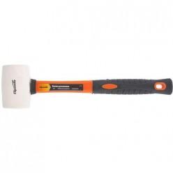 Киянка резиновая, 225г., белая резина, фибергласовая рукоятка //SPARTA арт.11128