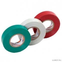 Изолента ПВХ 130 х 15 х 18 красная глянцевая