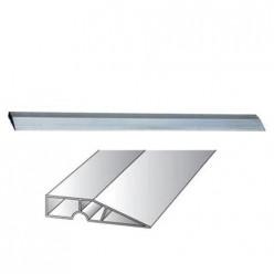 Правило алюминиевое Трапеция, 2 ребра жесткости, L - 3 м СИБРТЕХ  89605