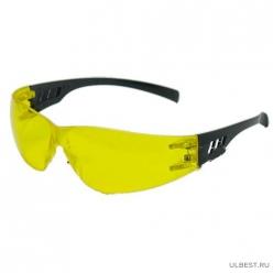 Очки защитные открытые Ультра лайт желтые арт.