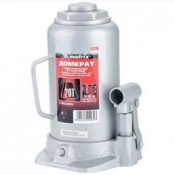 Домкрат гидравлический бутылочный, 20т, h подъема 242-452мм MATRIX MASTER 50731