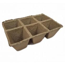 Горшочки торфяные 90х90 (квадратный)