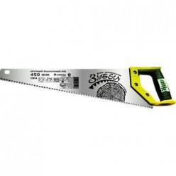 Ножовка по дереву Зубец 450мм,шаг 7мм,каленый зуб,2-х комп.рукоятка арт.23814