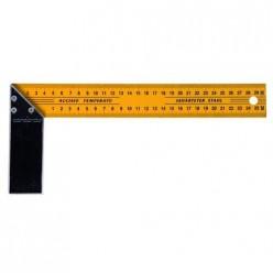 Угольник столярный, металлический 350 мм (Hobbi) (шт.) 15-3-350