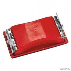 Брусок для шлифования, 210 х 105 мм, пластиковый с зажимами// MATRIX арт.75830