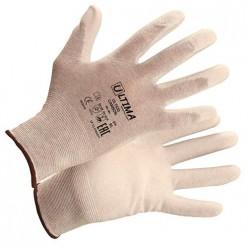 Перчатки нейлоновые с карбоновой нитью с  полиуретановым покрытием ULTIMA CARBON (7/S) арт.ULT630