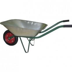 Тачка садовая WB 4307 Z в боксе  (оцинк 130кг, 65л, 1пневм.колесо тип2 330мм)