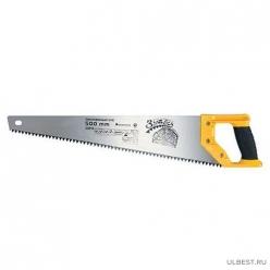 Ножовка по дереву Зубец 500мм,шаг 7мм,каленый зуб,2-х комп.рукоятка 23818
