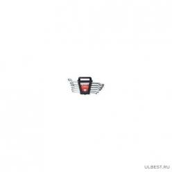 Набор ключей накидных, 6-22мм, CrV, 8шт, полированный хром MATRIX 15332