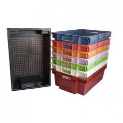Ящик для овощей (600х400х200) цветной Бриг