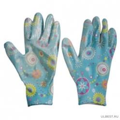 Перчатки хозяйственные PARK EL-F002, размер 7 (S) арт.001362