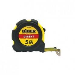 БИБЕР 40105 Рулетка DIRECT обрезиненный корпус  10м х 25мм (10)