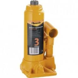 Домкрат гидравлический бутылочный, 3т, h подъема 180-340мм SPARTA 50322