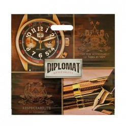 Пакет ПЭ с вырубной ручкой 44х44+6 (70) Интерпак (Дипломат) Россия ВУР03131