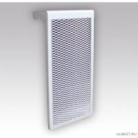 Декоративный металлический экран на радиатор 5-и секционный 5 ДМЭР