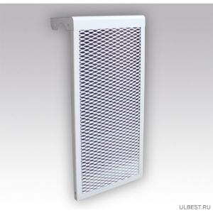 Декоративный металлический экран на радиатор 5-и секционный 5 ДМЭР  фото