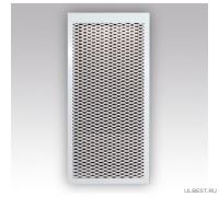 Декоративный металлический экран на радиатор 6-и секционный 6 ДМЭР