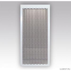 Декоративный металлический экран на радиатор 6-и секционный 6 ДМЭР  фото