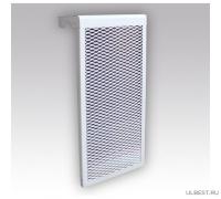 Декоративный металлический экран на радиатор 4-и секционный 4 ДМЭР