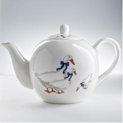Чайник заварочный 1000 мл МН093R Гуси