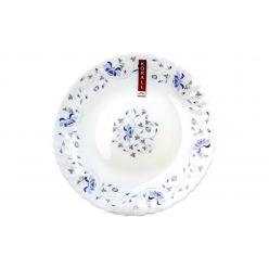 Тарелка плоская 24см Синяя вуаль