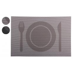 Салфетка для сервировки 30х45см Обед (2 цвета микс)