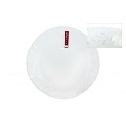 Тарелка плоская 19см Арабеска