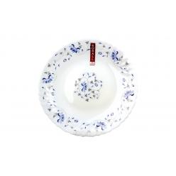 Тарелка плоская 19см Синяя вуаль
