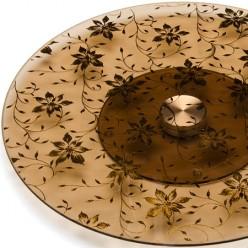 3050-9004 Тортовница 34см вращающ.стекло(х6)(х15)(х8)МВ MAYER & BOCH