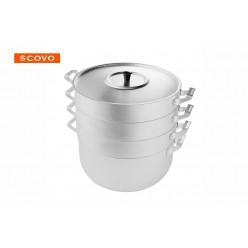 Манты-казан Scovo МТ-118 6л 3 сетки