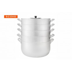 Манты-казан Scovo МТ-112 6л 4 сетки