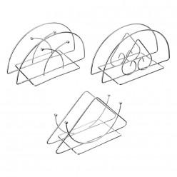 VETTA Салфетница, металл, 13х7х6см, 3 дизайна (844-055)