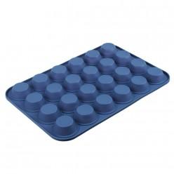 VETTA Форма силиконовая 24 ячейки, для булочек 36x24x2,2см, 3 цвета, HS-006C (891-004)