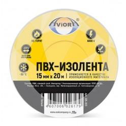 Изолента AVIORA ПВХ 15мм*20м белая 305-003