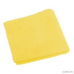 Салфетка из микрофибры М-02, цвет-желтый, р-р 30*30см, вес 25-27гр. (310203)
