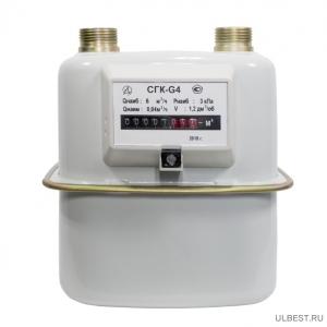 Газовый счетчик СГК-4 Владимир  левый 30*2 резьба фото