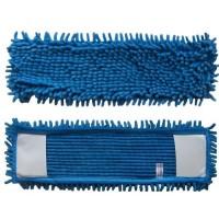 P 049А Насадка к швабре Р045 из микрофибры (синяя вермишелька)