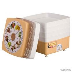 Сушилка для овощей и фруктов Ротор Дива Люкс СШ-010-02 5 поддонов, вентилятор