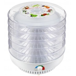 Сушилка для продуктов Ветерок-2 (5 поддонов, гофротара) прозрачный ЭСОФ-0.6/220