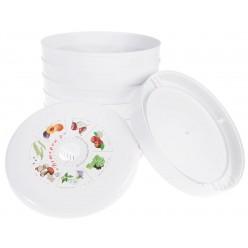 Сушилка для овощей и фруктов Ветерок-2 (6 поддонов, гофротара) + поддон для пастилы