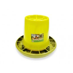 Кормушка Птичий дворик бункерная для птицы 10 литров (емкость+поддон+решетка) Агропласт