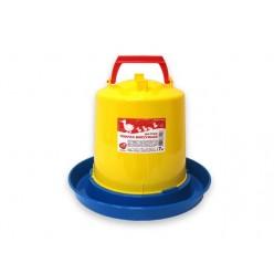 Поилка Птичий дворик 7 литров бункерная пластиковая г.Курск