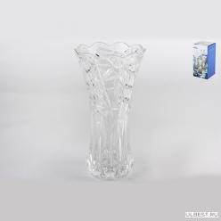 Ваза д/цветов Н 250 Н-250 D-128 п/уп, кристалл GB1568BL-1