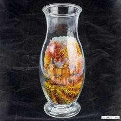 Ваза для цветов арт.967/6 -Д Домик в саду