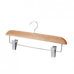 Вешалка-плечики брючные деревянная светлая Р8012S/40