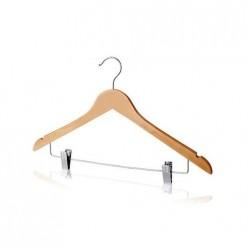 P 8033S Плечики дерев. для одежды